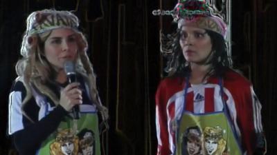 Karla Panini (izquierda) y Karla Luna (derecha) integraron el dúo 'L...