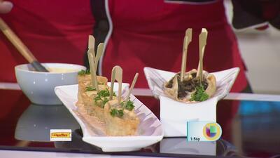 """Dumplings"" de Morcillas La Aguadillana"
