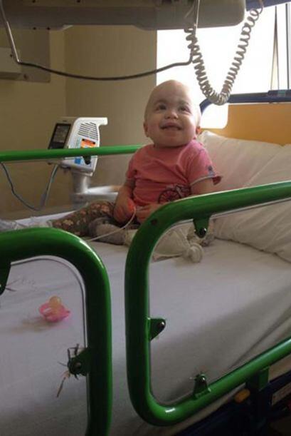 Sin la donación de este valiente bebé, la enfermedad se complicaría de m...