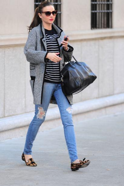 ¡Miranda Kerr es otra belleza que adora la comodidad pero también el est...