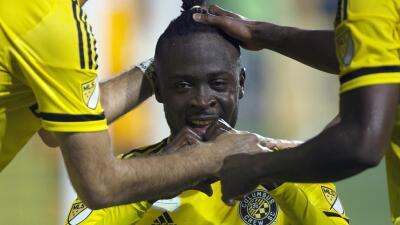Kei Kamara anota doblete para Columbus Crew SC