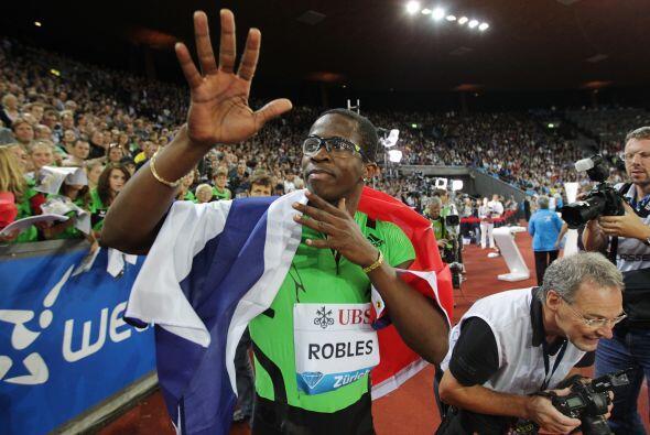 Tanto en Juegos Panamericanos como en Juegos Olímpicos, Dayron Robles se...