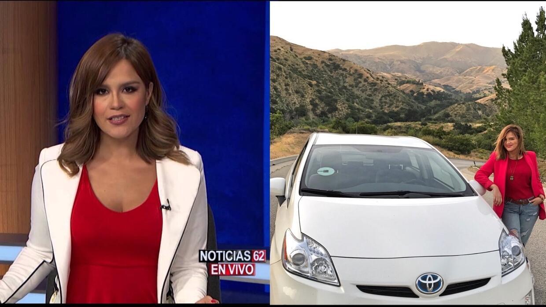 Karla Amezola, de la conducción de noticias a la conducció...
