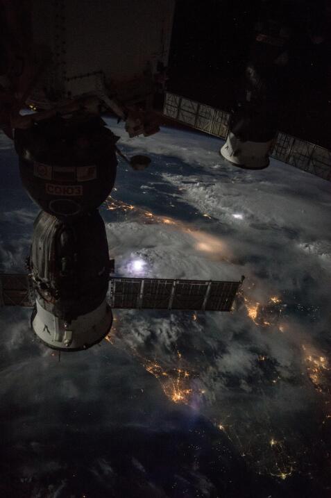 Imágenes desde la Estación Espacial Internacional