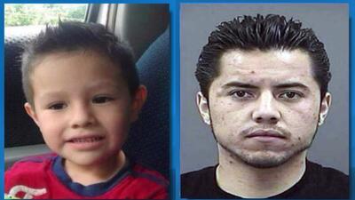 Ricardo Alekzander Lara y su padre Ricardo Lara Martinez