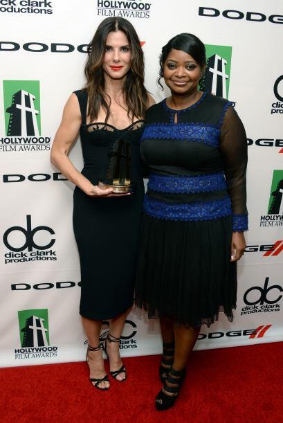 Sandra Bullock y Octavia Spencer.Mira aquí los videos más chismosos.