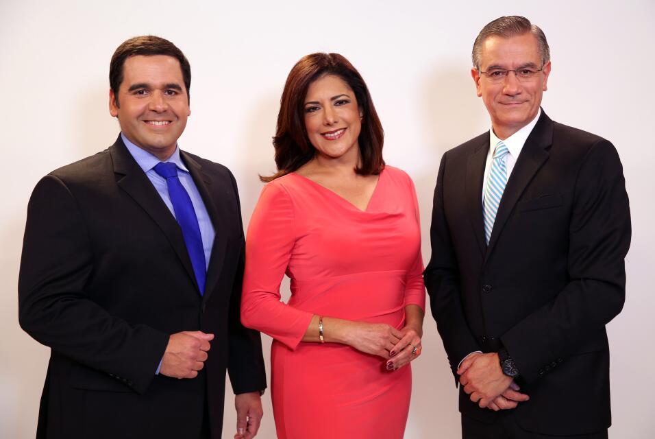 Albert Martínez, Ana María Vargas y Angel Pedrero, Noticias 23 Edición N...