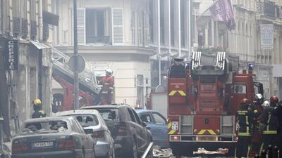 En fotos: explosión por fuga de gas en panadería en París deja 3 muertos y decenas de heridos