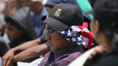 Inmigrantes centroamericanos