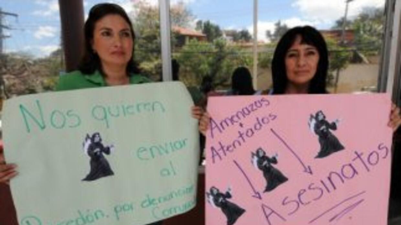 Un grupo de periodistas independientes exigen el cese a la violencia con...