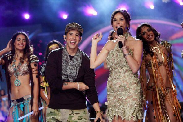 Daddy Yankee invitó a Giselle hacer parte de uno de sus videos musicales.
