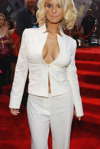 Jessica Simpson era la tentación de los caballeros por lo irresistible q...