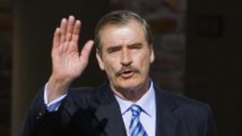 El ex presidente mexicano Vicente Fox.