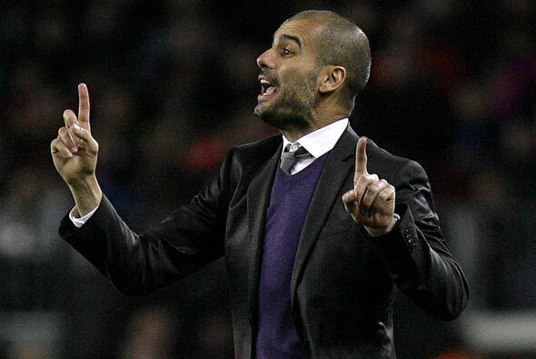 Josep Guardiola, técnico de los catalanes, ha hecho lo necesario para qu...