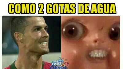Memelogía   De Gea y Cristiano Ronaldo, víctimas de los memes en remate del grupo B