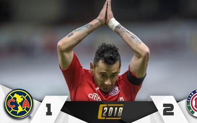Rubens Sambueza anotó uno de los goles de la victoria del Toluca.