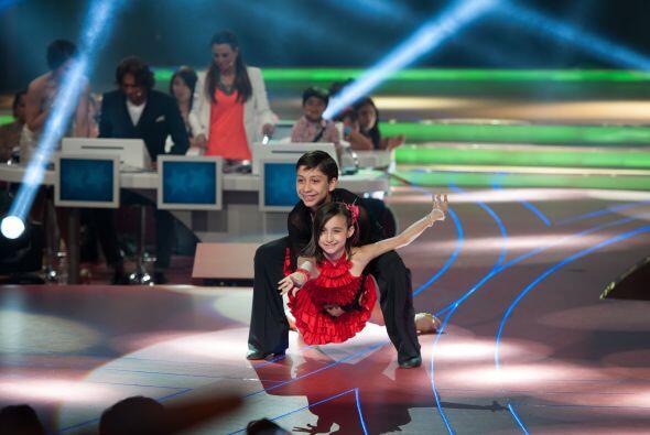 Los pequeños bailarines continuaron mostrando por qué deberían permanece...