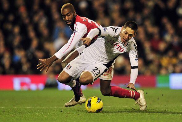Y eso no sería todo, Fulham estaba dispuesto a sacar la victoria.