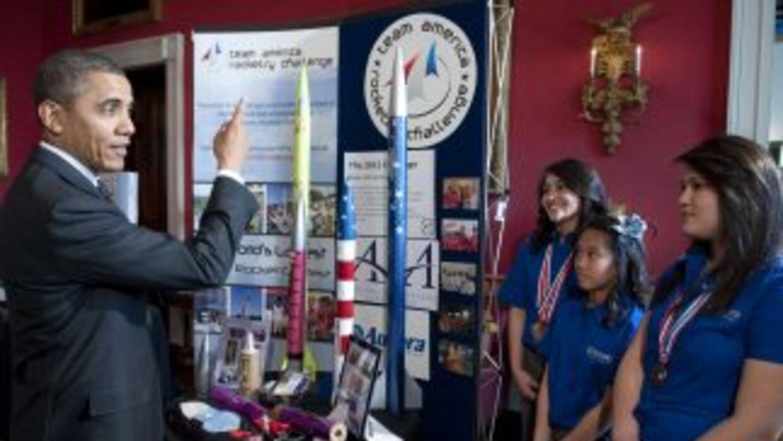 Más de 100 alumnos de escuelas públicas de Estados Unidos participaron e...