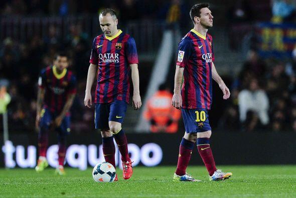 Los catalanes parecían derrumbados, como si estuvieran presenciando otra...