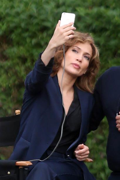 Más y más selfies, se nota que Jenni está obsesionada con su belleza.