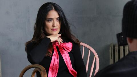 Salma Hayek asiste a The Hollywood Reporter 2017 Sundance Studio At Sky...