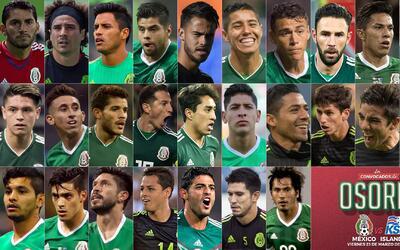 Juan Carlos Osorio llamó a 28 elementos para los duelos de Fecha...