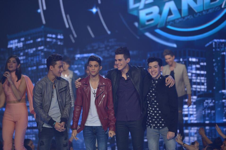 El show 5  de La Banda en fotos