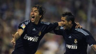 Raúl les deseó suerte a sus ex compañeros en la Final contra el Atlético.
