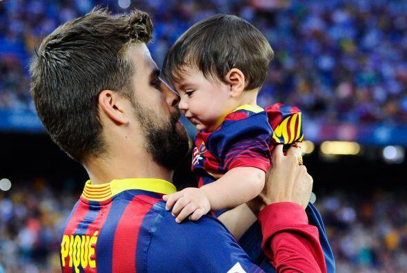 Milan, el bebé que resultó de su amor con la colombiana es también uno d...