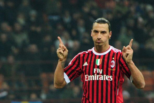 El último jugador es el polémico Zlatan Ibrahimovic.