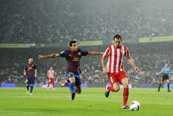 Baile también el que le dio el Barcelona al Atlético de Madrid. Mientras...