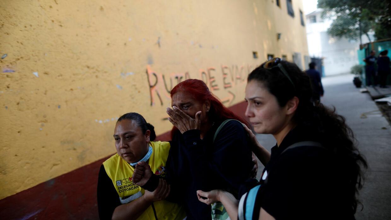 Algunas escenas de pánico se vieron en la capital mexicana, pero hasta a...