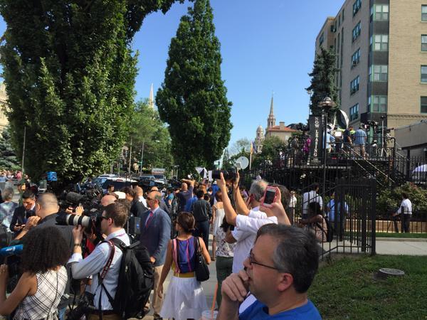 Reapertura de la embajada cubana en Washington.