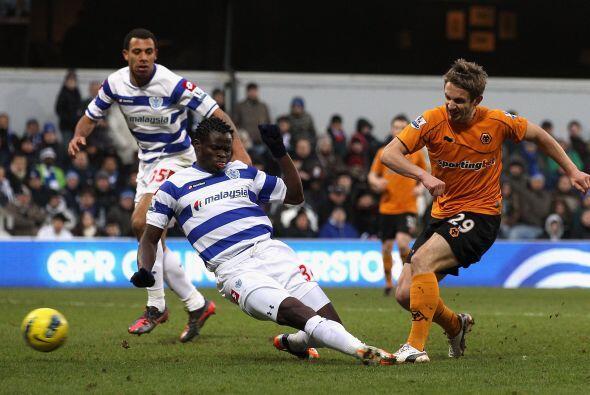 Por otra parte, Wolverhampton superó al Queens Park 2 a 1.