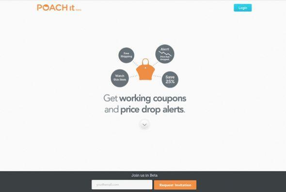 Poachlt (poachit.com)  En un verdadero estilo de caza de ofertas, te per...