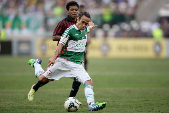 3. Palmeiras de Brasil es el tercero en la lista muy cercano a los anter...