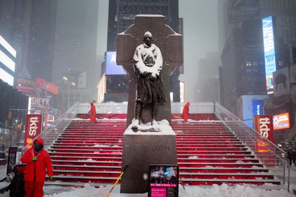 Pocas veces la ciudad de Nueva York baja su intensidad habitual.