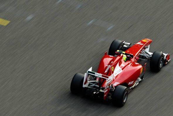 Fernando Alonso hizo todo lo posible para sacarle el poder a su Ferrari,...