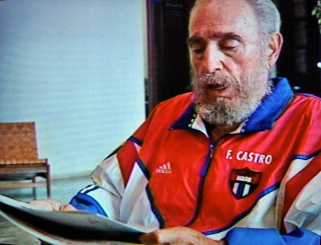Fidel Castro en una aparición del 2006.