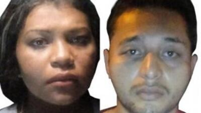 La Policía Federal identificó a los detenidos como Damaris Gómez Negrete...