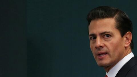 El presidente de México, Enrique Peña Nieto, ha reiterado que no pagará...