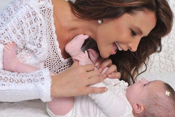 En 2013 la hermosa Luciana llegó a su vida y con ella el verdadero amor...
