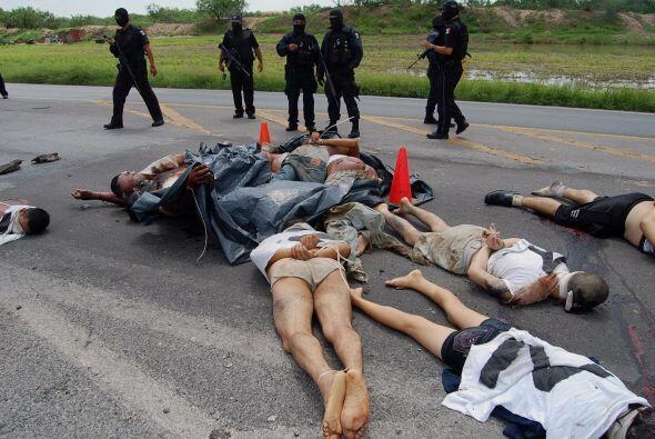 México, que tiene involucrado a su ejército desde hace cuatro años en el...