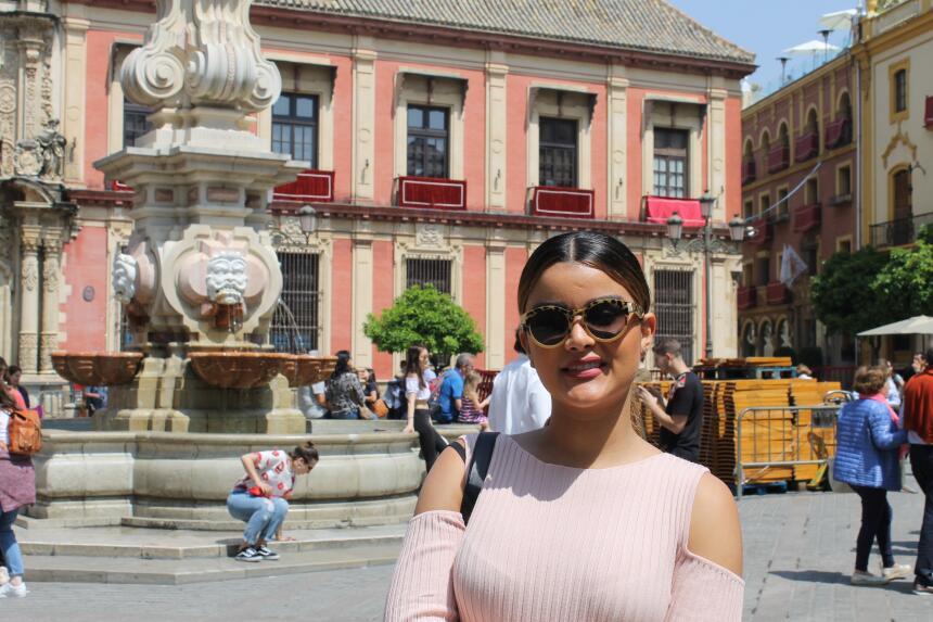 Estas son las fotos más bellas de Clarissa Molina en Sevilla IMG_4377.JPG