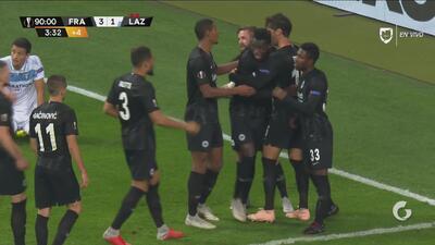 Danny da Costa, con su doblete, sella la goleada del Eintracht Frankfurt