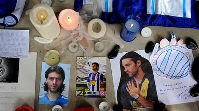 Muertes súbitas en el mundo del fútbol a nueve años de la de Dani Jarque