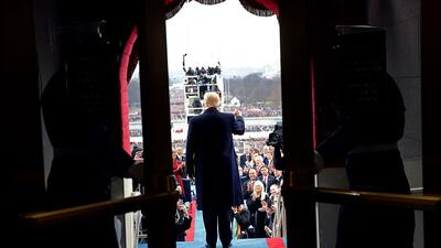 La inauguración de Donald Trump cambió la manera en que los estadouniden...