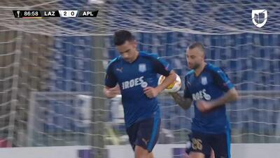 ¡GOOOL! Emilio Jose Zelaya anota para Apollon Limassol