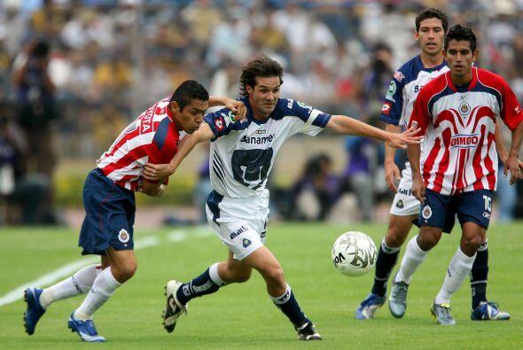En el Clausura 2007, el 11 de marzo del 2007, Universidad y Guadalajara...